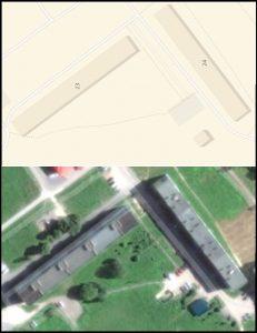 часть дворовой территории у д. 23,24,25,26 д. Бегуницы.