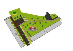 дизайн-проект части дворовой территории у д. 23,24,25,26